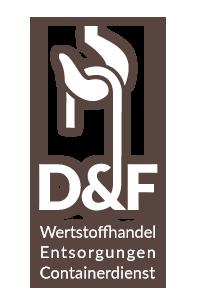 Logo | D&F Wertstoffhandel in 56626 Andernach